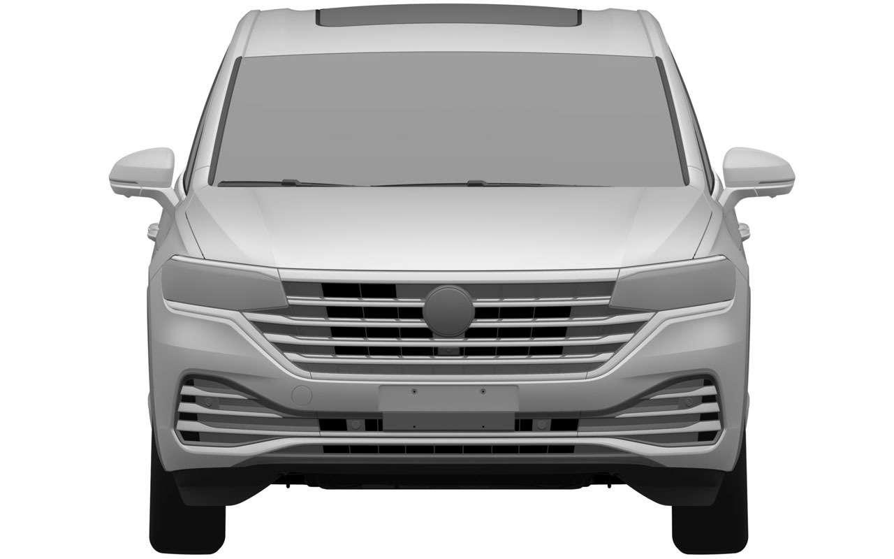 VWзапатентовал вРоссии новую модель— Viloran— фото 1165767