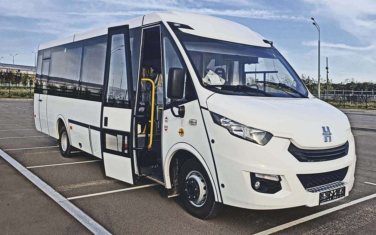 Небольшой автобус Неман 4202— опыт эксплуатации— фото 1278215
