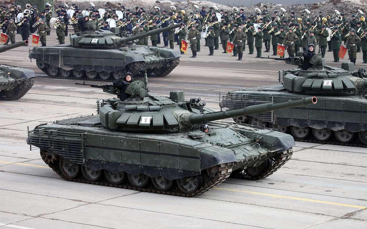 НашТ-72Б3 против немецкого Леопарда-2: пришельцы изпрошлого— фото 864032