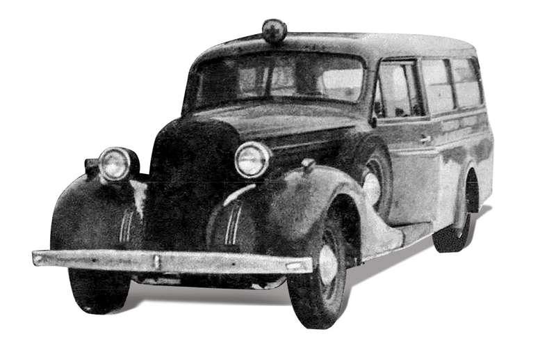 Уникальная Победа ГАЗ-М20: ретротест машины cкорой помощи
