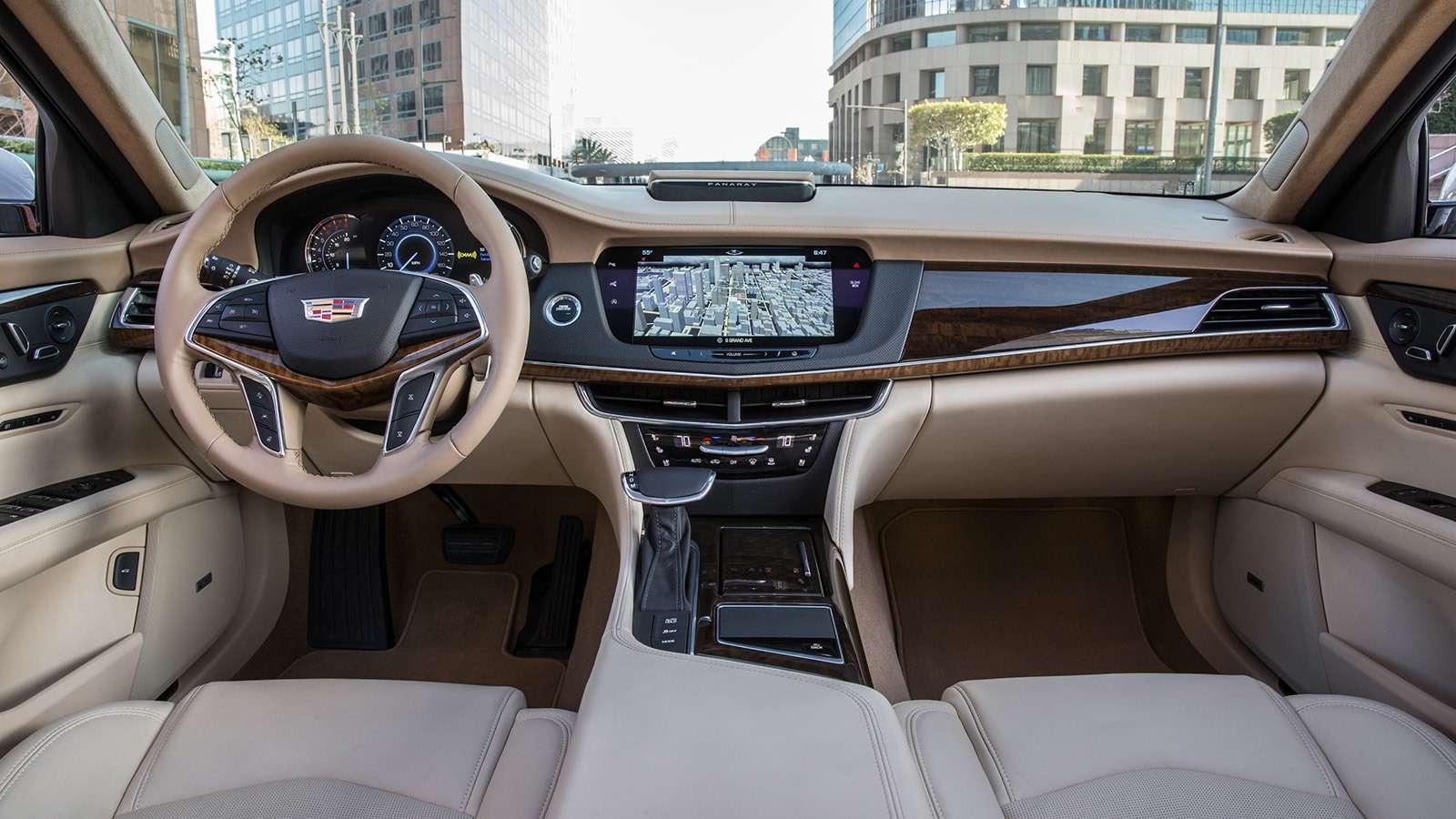 Флагманский седан Cadillac: цены икомплектации вРоссии— фото 823426