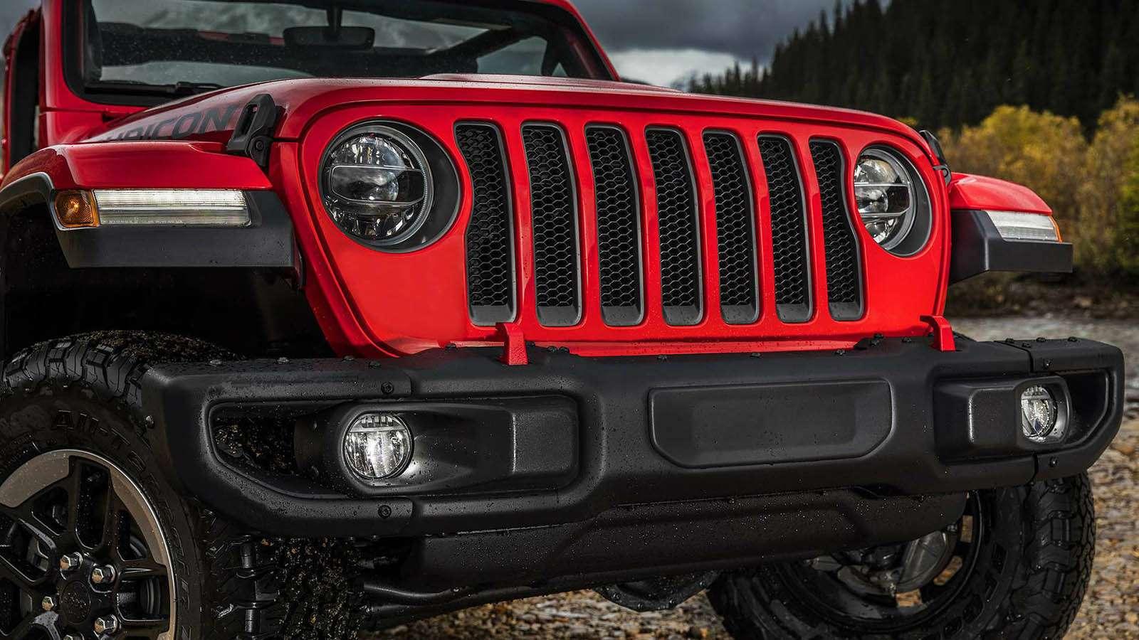 Новый Jeep Wrangler: найди десять отличий— фото 821257