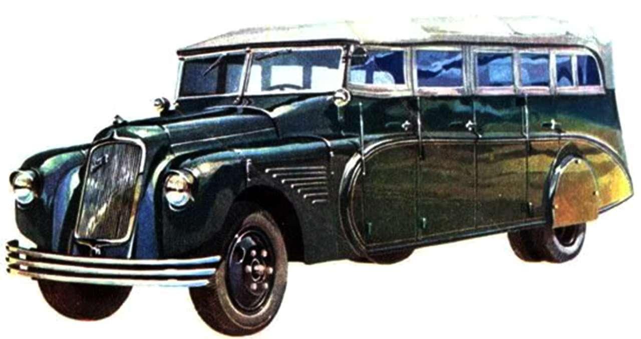 Волга ГАЗ-21из Победы М-20и самые странные автобусы— фото 844997