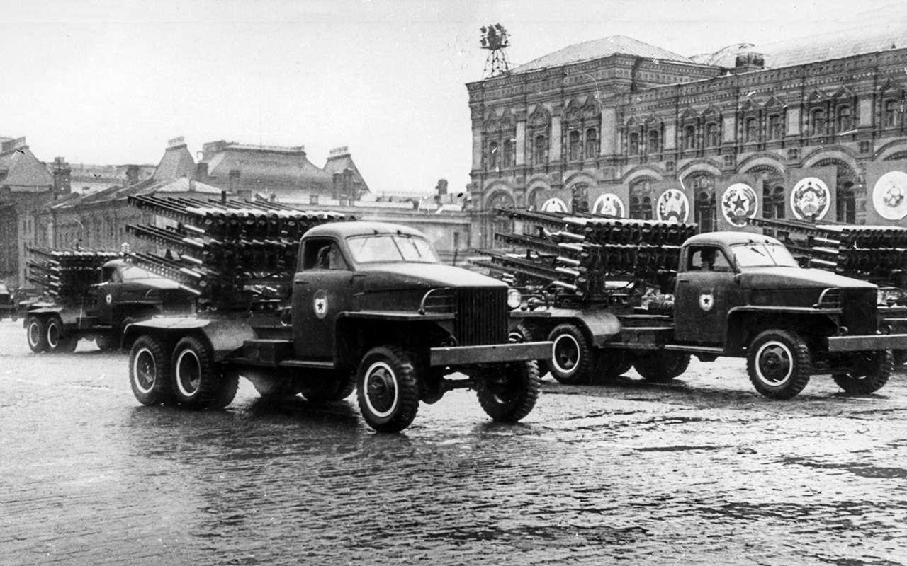 Великая пара Великой Отечественной: ретротест Студебекера сКатюшей— фото 1243990