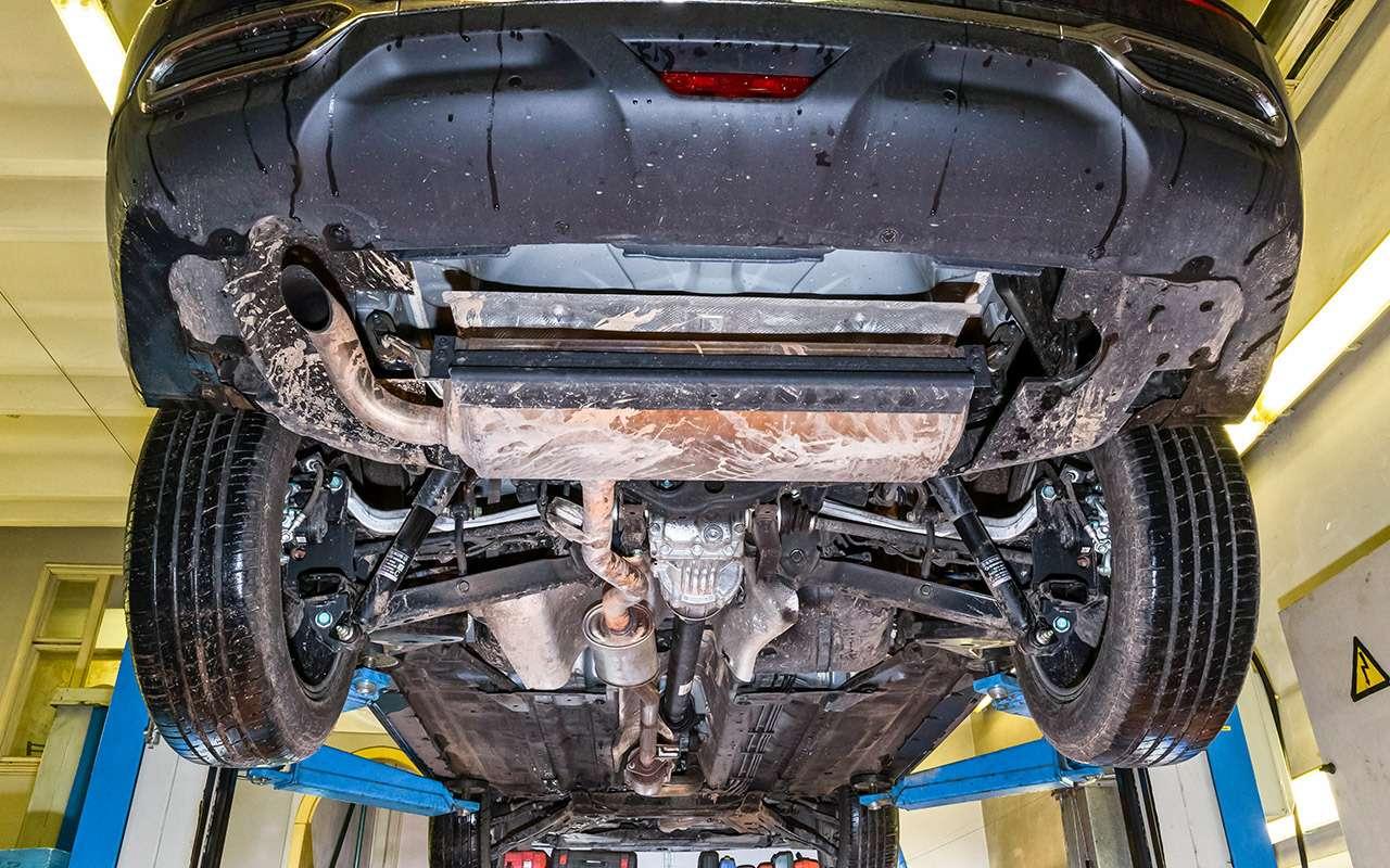 Hyundai Creta или Renault Koleos: чей полный привод круче? Часть 1— фото 825644