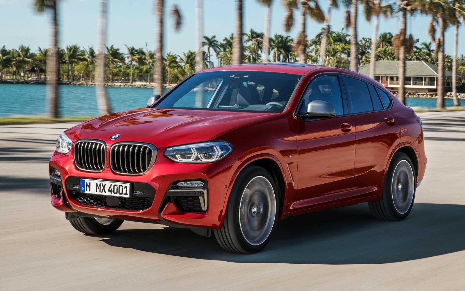 BMWобъявила цены нановый Х4в России— фото 853850