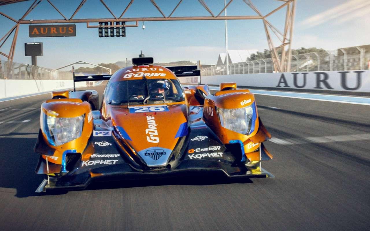 Aurus создал гоночный прототип— фото 962665