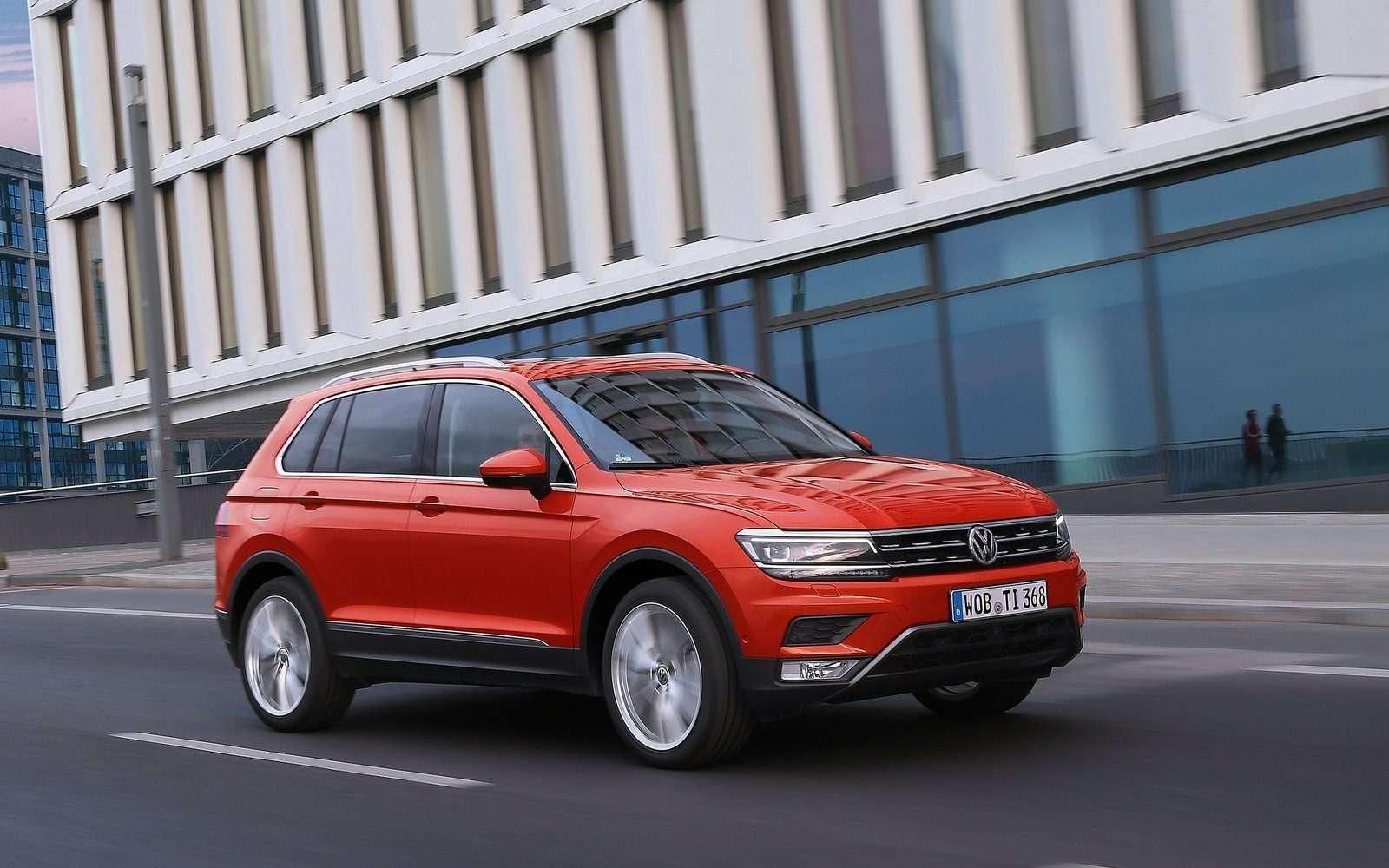 Volkswagen Tiguan второго поколения обживается вКалуге— фото 614686