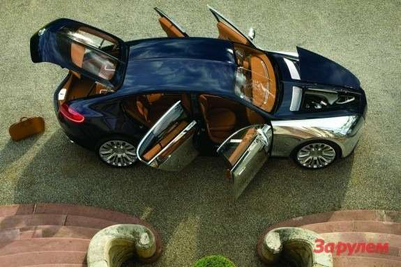 Bugatti 16C Galibier top view