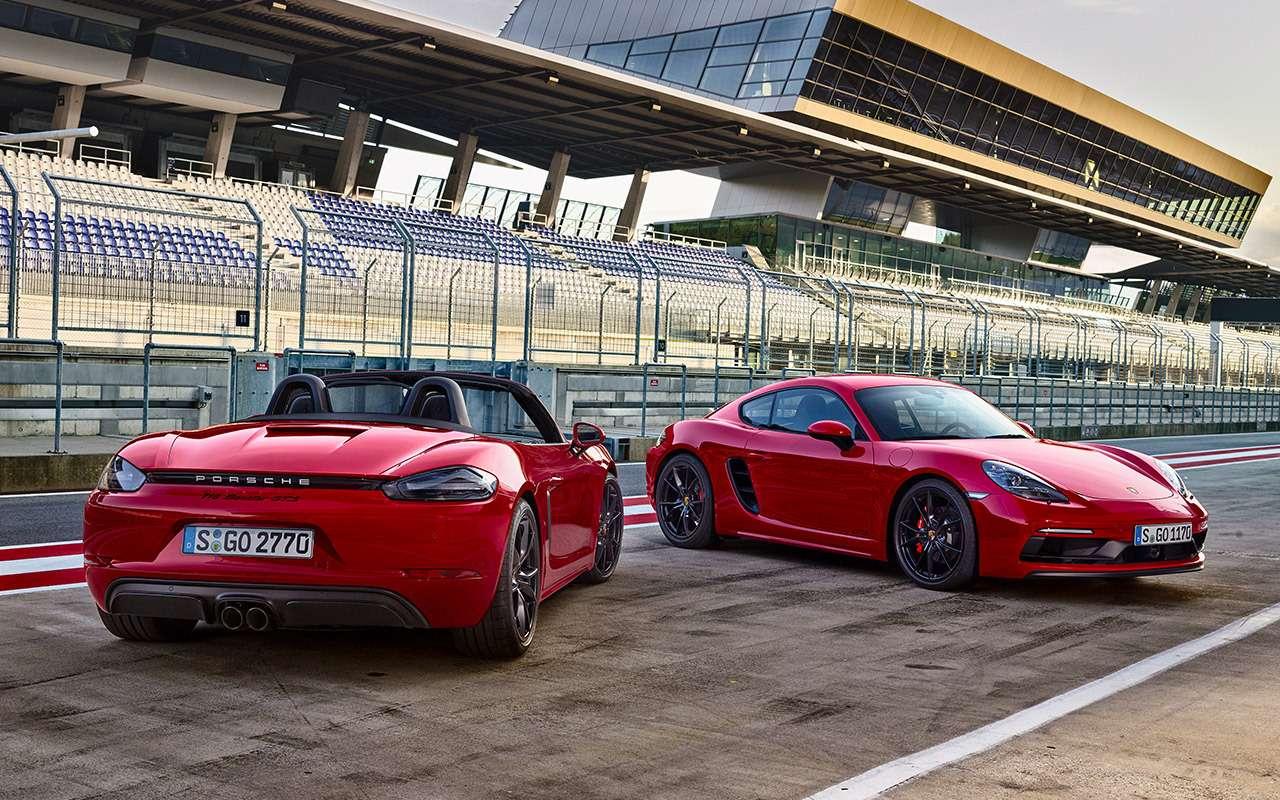 Porsche всвоей стихии: тестируем самые мощные версии нагоночном курорте— фото 837441