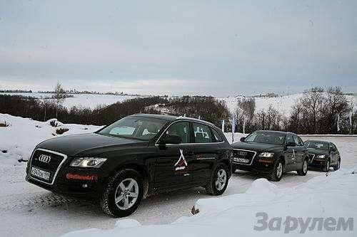 Audi quattro Camp: Q5в своей стихии (ВИДЕО)— фото 6107