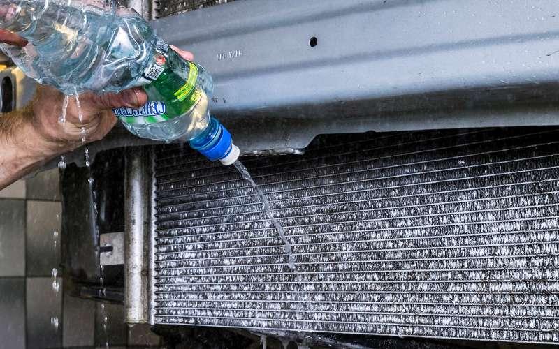 Промывка радиатора охлаждения двигателя своими руками 48