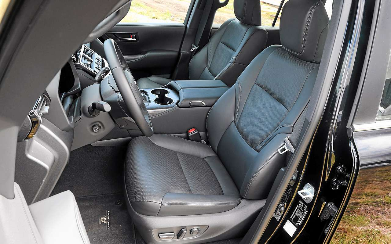 Новый Land Cruiser — проверили его бездорожьем— фото 1275615