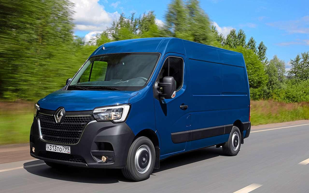 Обновленный Renault Master - тест для бизнесменов - фото 1164055