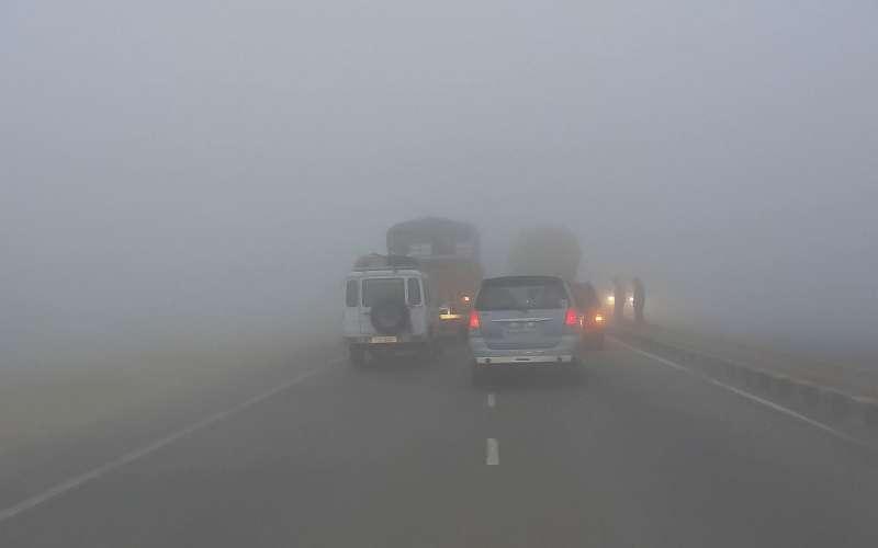 Туман надороге