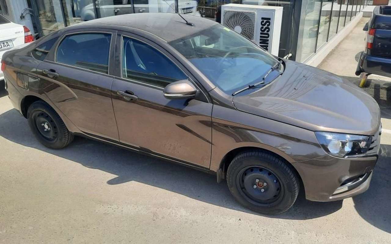 Lada Vesta - сделано в Узбекистане (да, есть и такие!)
