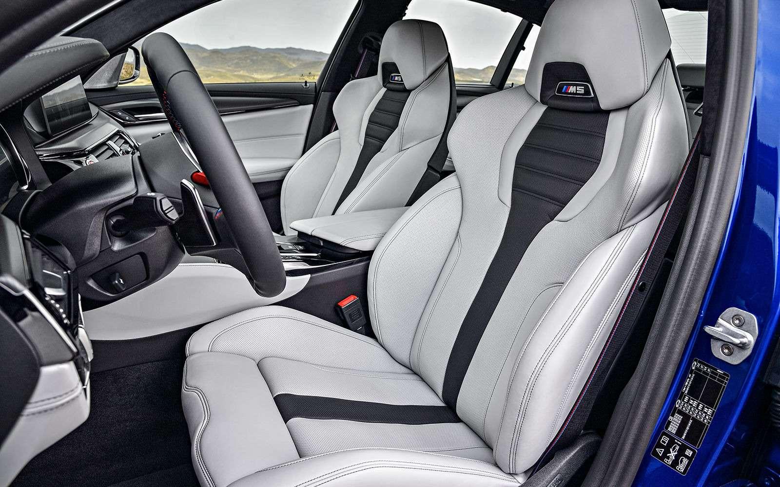 Новый BMW M5: спортседан накаждый день (идлядрифта)— фото 786417