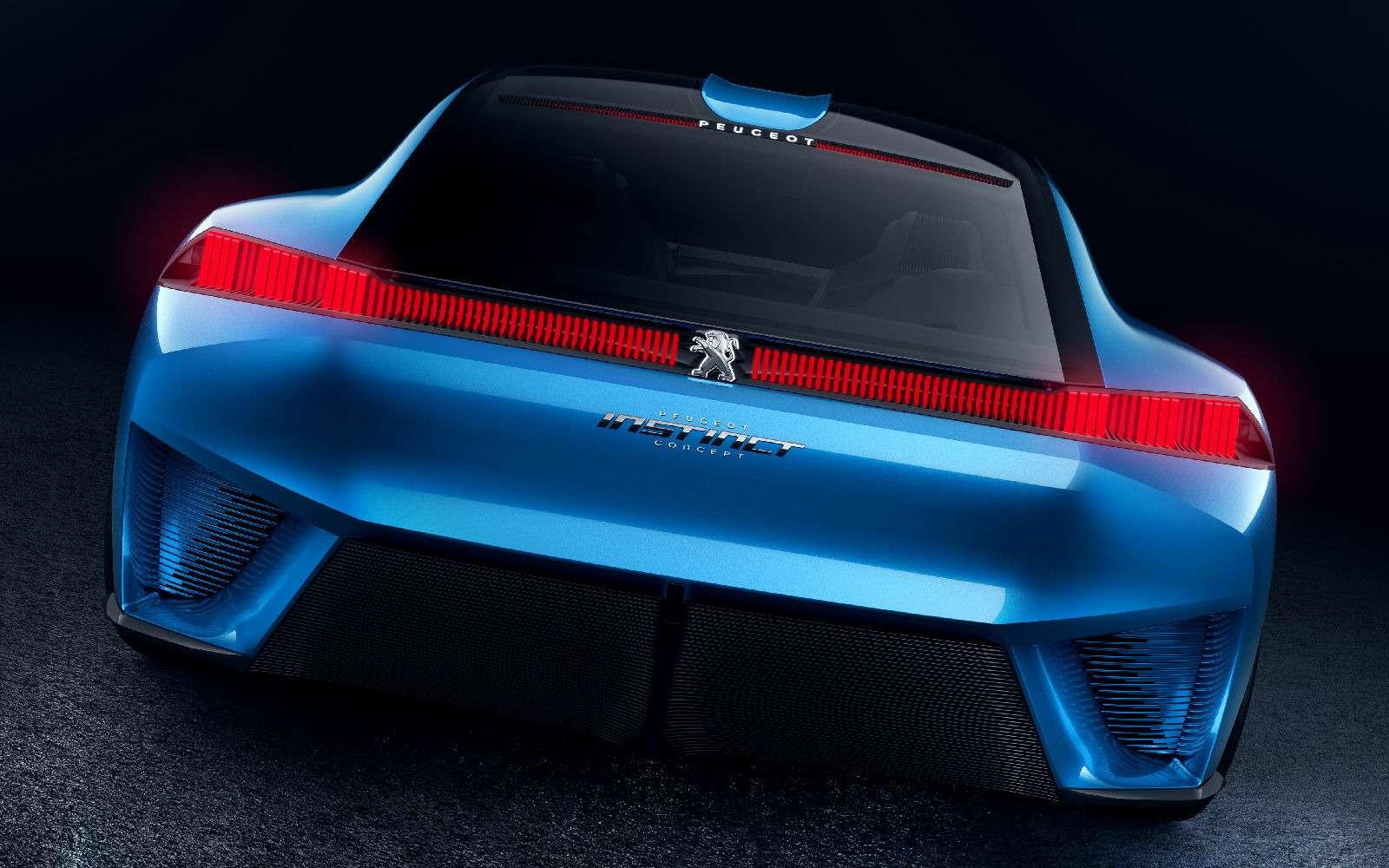 Peugeot Instinct: ваше первое «Я»— фото 713214