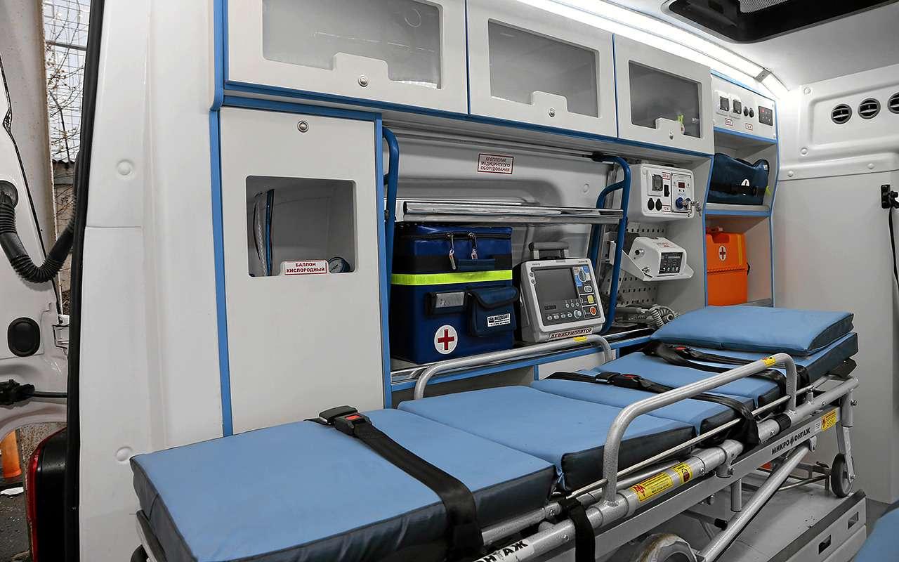 Какустроен современный автомобиль скорой помощи— фото 875254