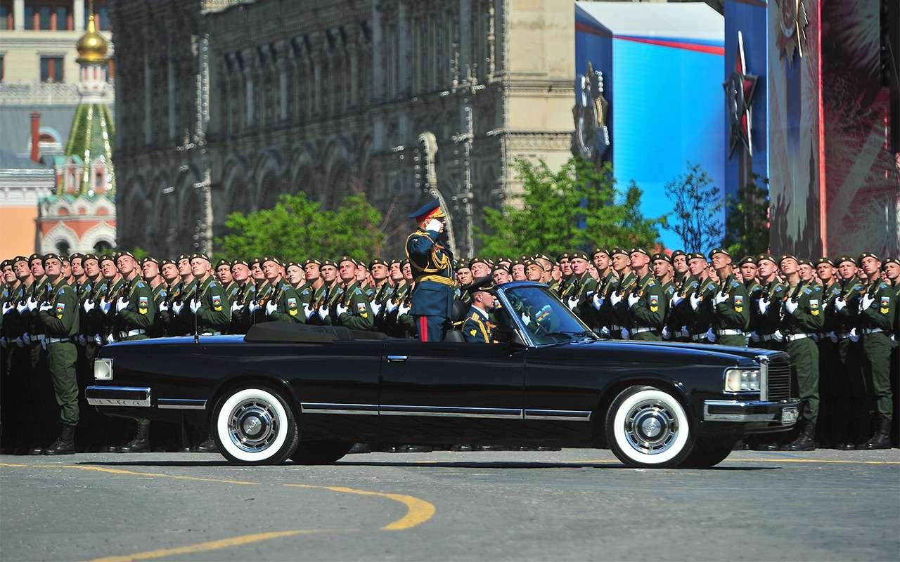 Главный автомобиль Парада Победы: кабриолет Шойгу— фото 864393