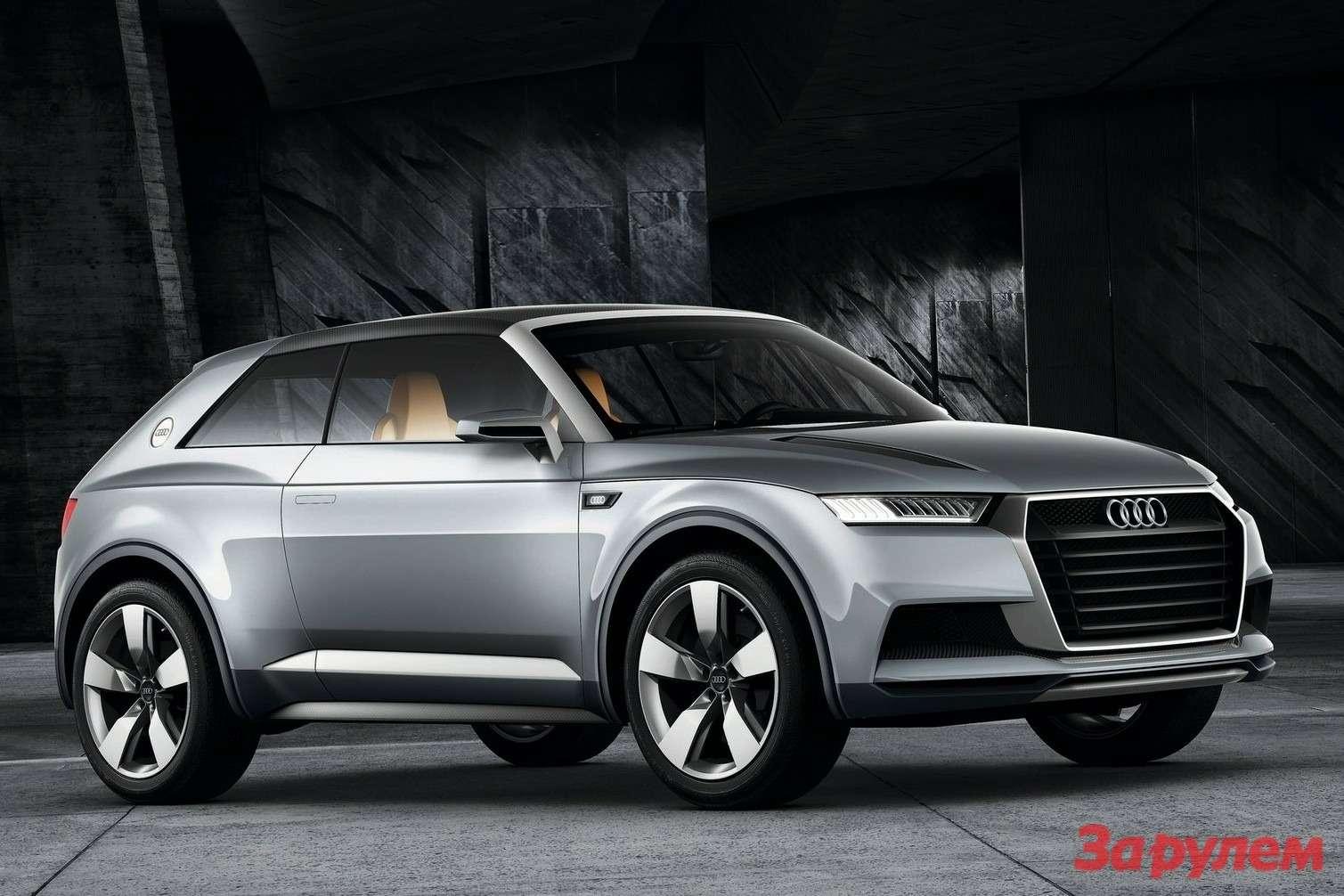 Audi Crosslane Coupe Concept 2012 1600x1200 wallpaper 04