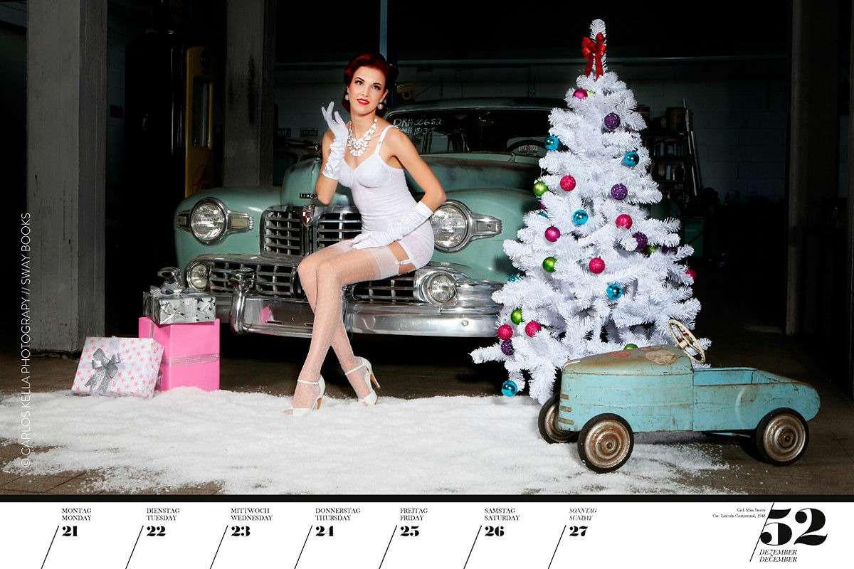 16красоток и29легендарных тачек Америки— ваш календарь-2020— фото 1003747