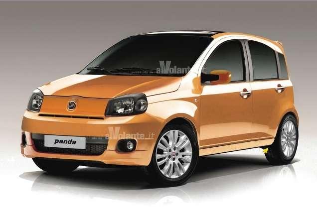 Fiat Panda станет Джипом