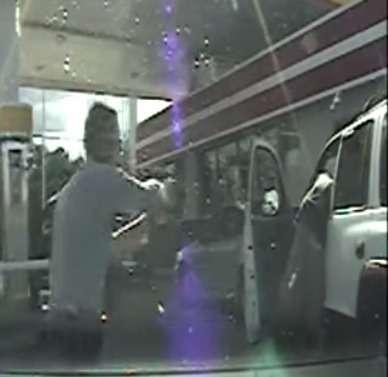 Расстрел безоружного водителя запечатлел регистратор