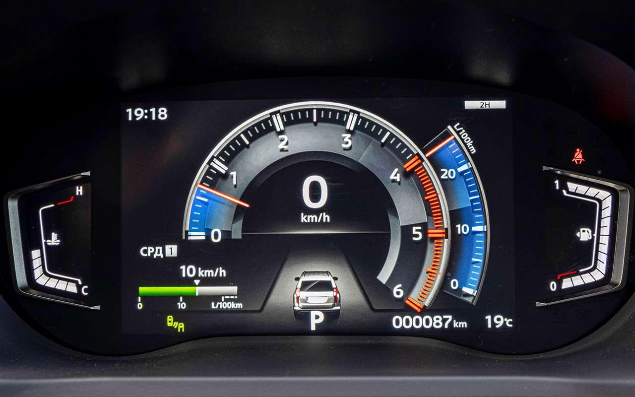 Mitsubishi Pajero Sport 2021— все обновления— фото 1267694