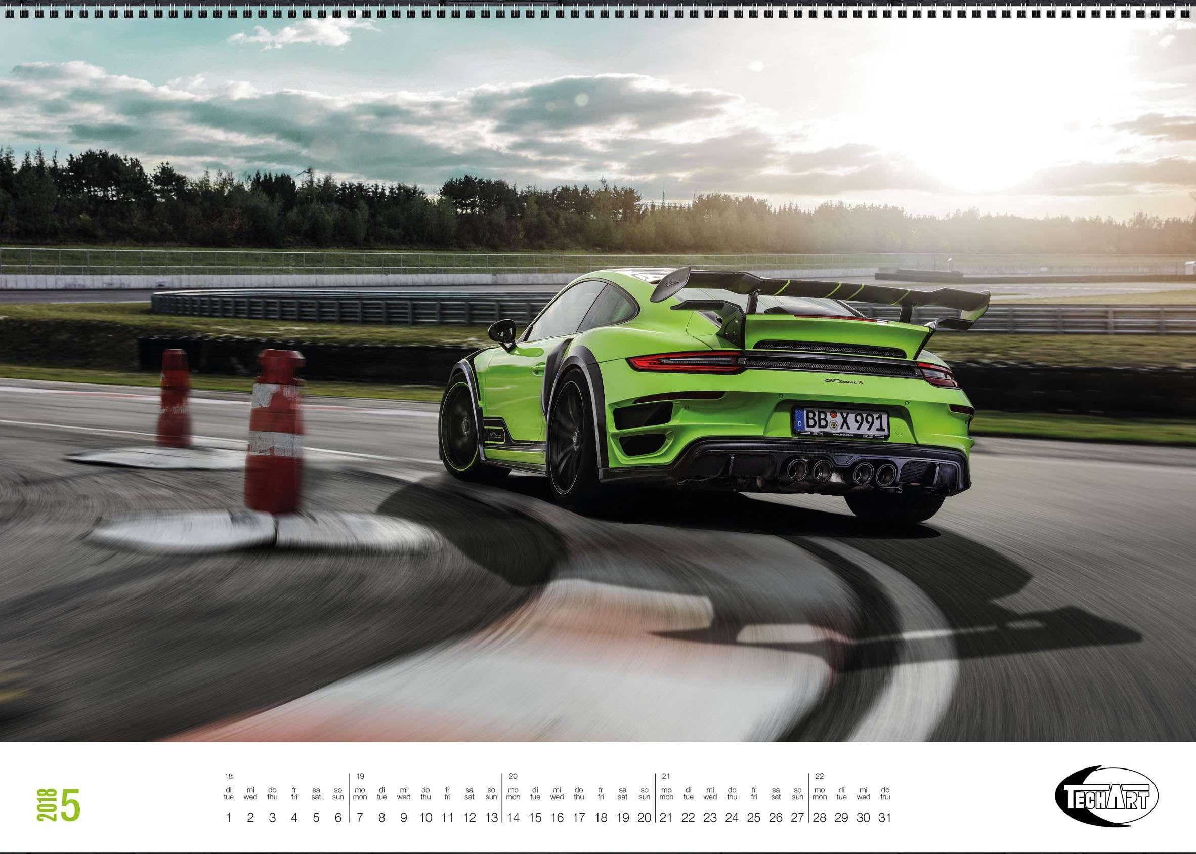 Только красивые машины: календарь Techart— фото 826390