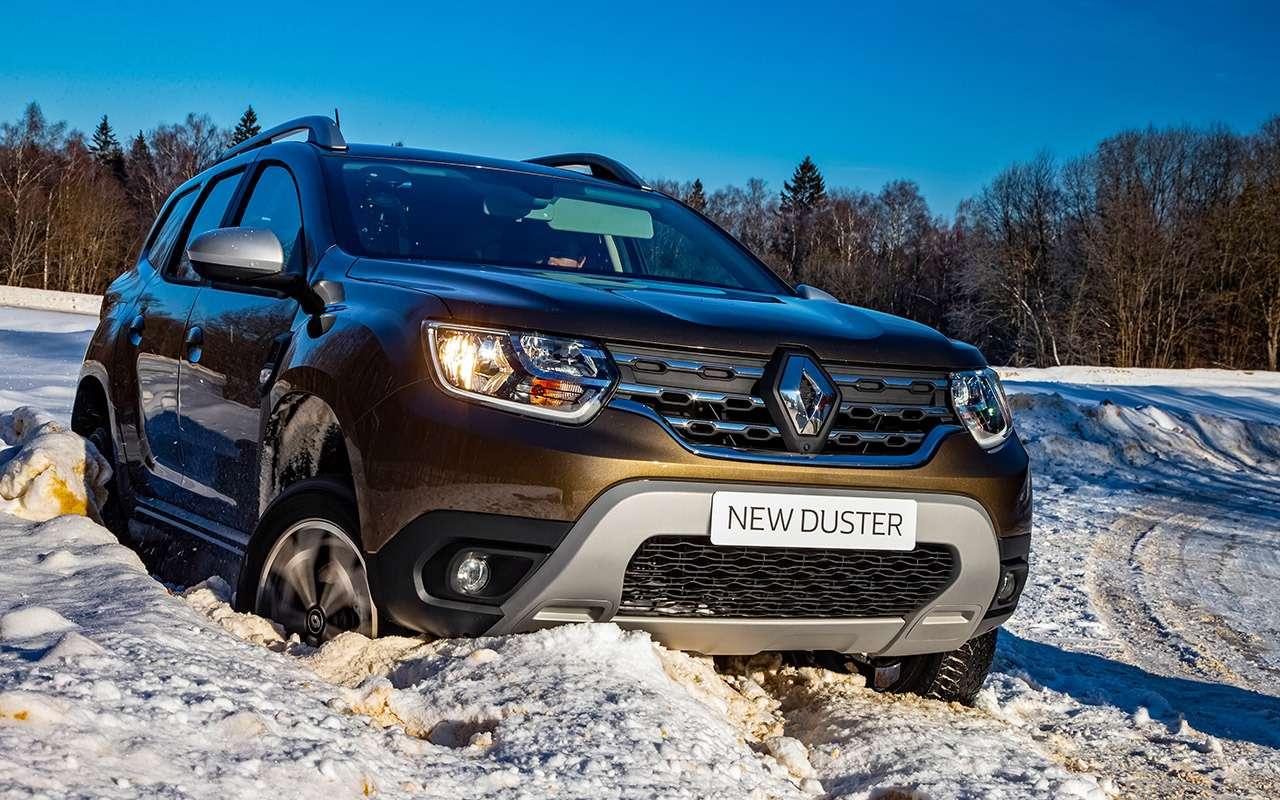 Новый Renault Duster стурбо имеханикой— первый тест— фото 1227560