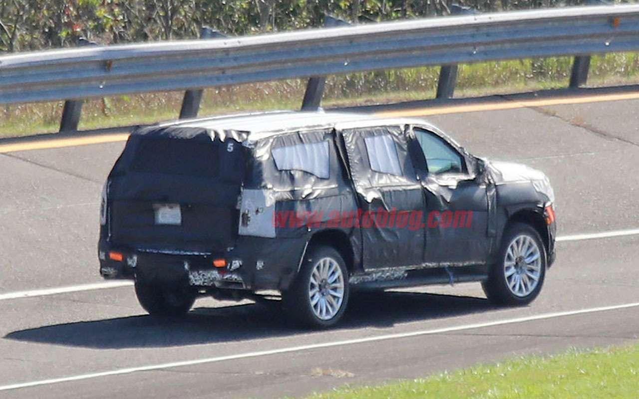 Cadillac готовит новый Escalade— тесты начались— фото 1000604