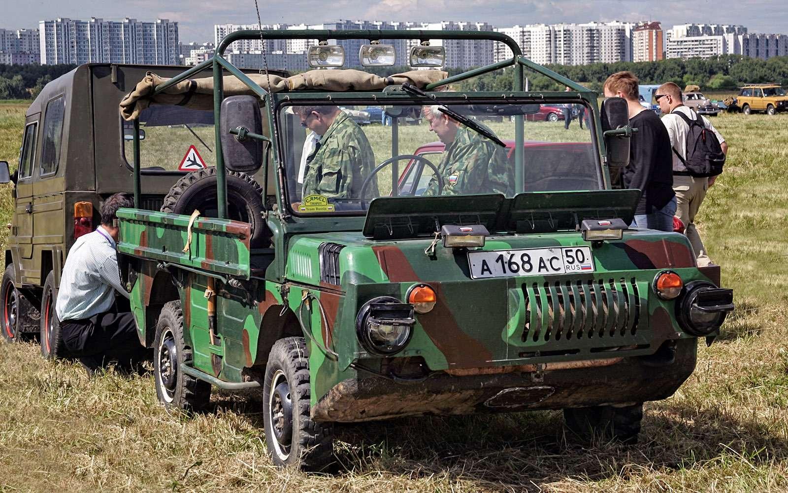 Самые необычные советские автомобили. Топ-12— фото 631387