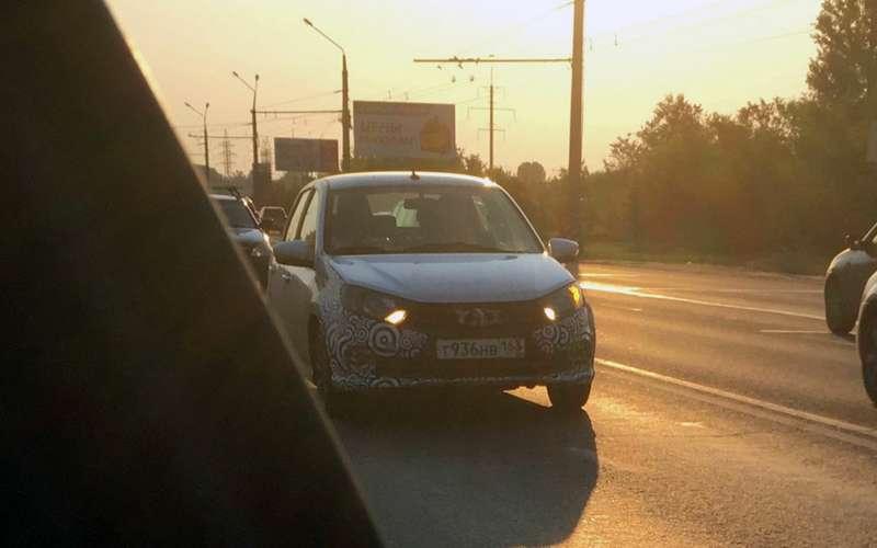 Новая Lada Granta Sport— первые фото