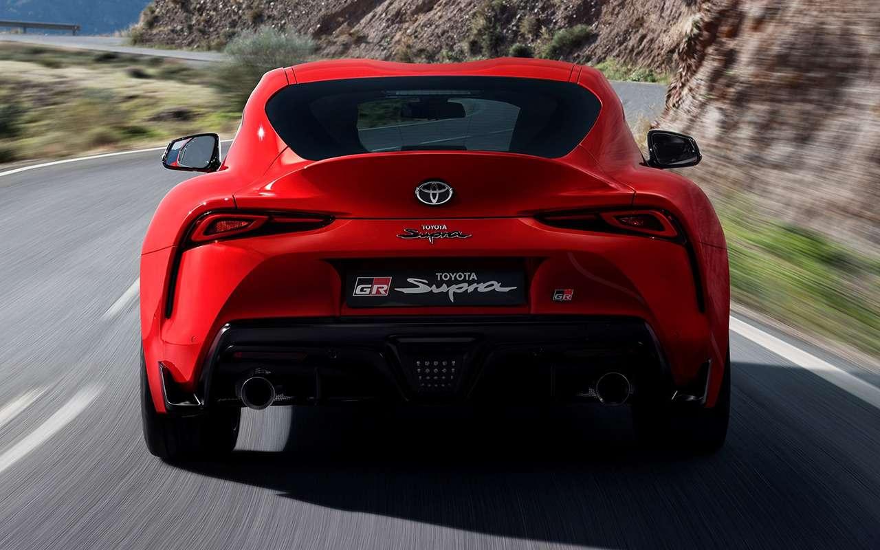Новая Toyota Supra: комплектации ицены— фото 978212