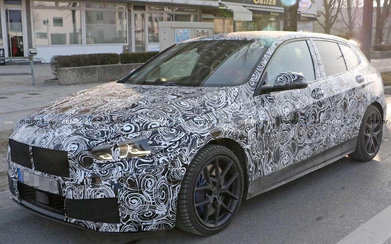 Новый BMW 1-й серии получит салон от3-й серии— фото 949429