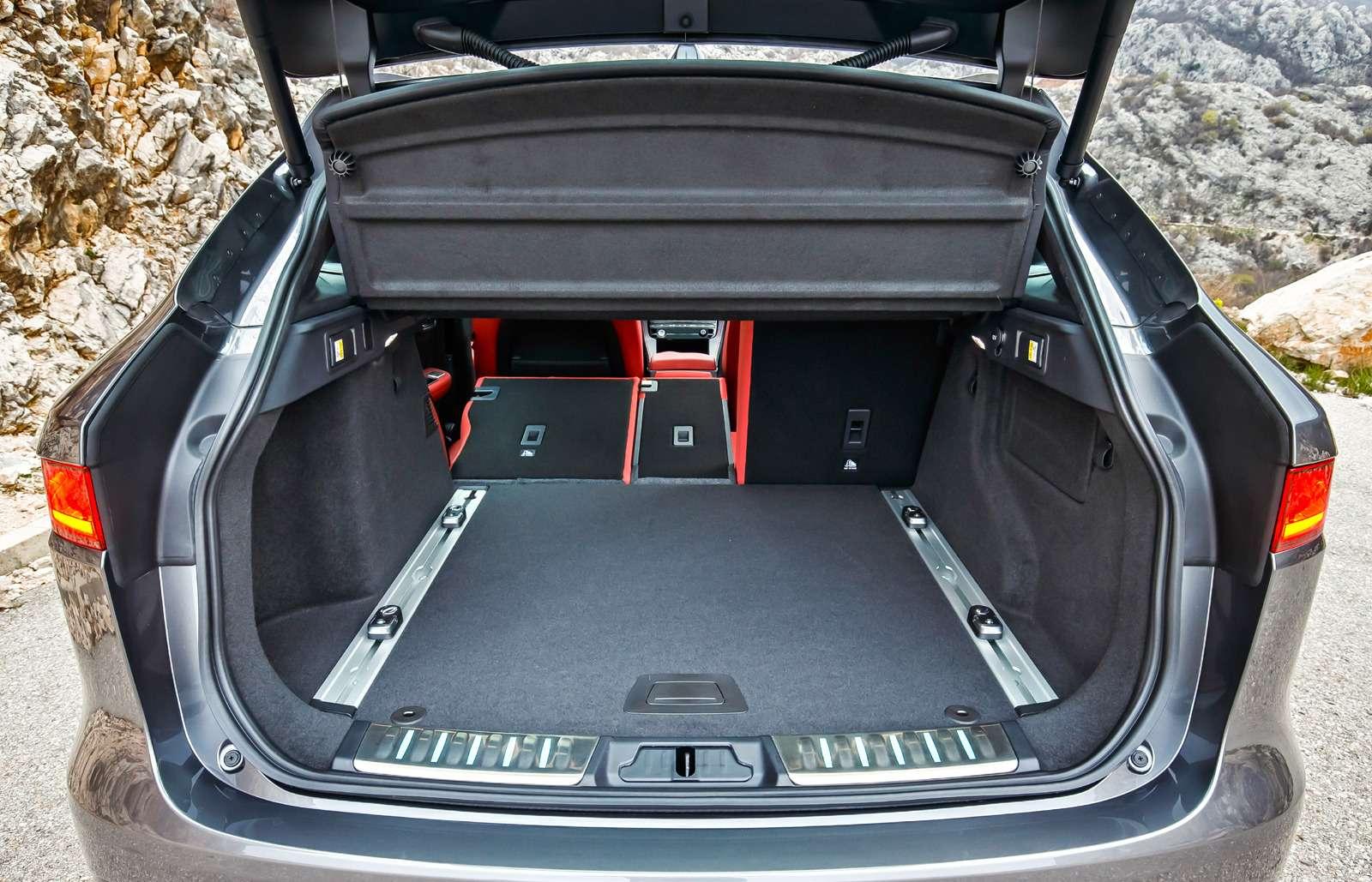 Первый тест нового кроссовера Jaguar F-Pace: пересечения— фото 597185