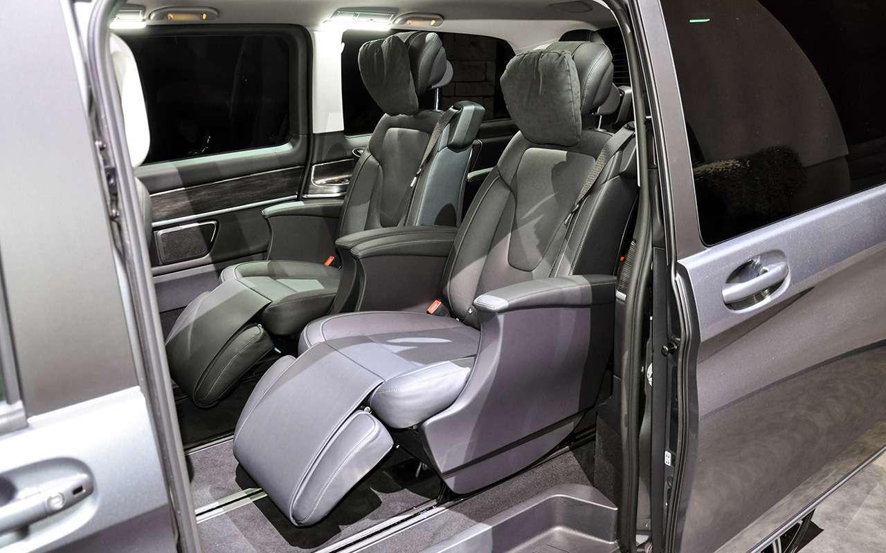 Mercedes-Benz V‑класса: изменения после рестайлинга— фото 955005