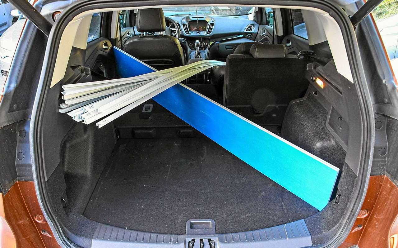 Ford Kuga изпарка ЗР: смотрим напросвет— фото 831428