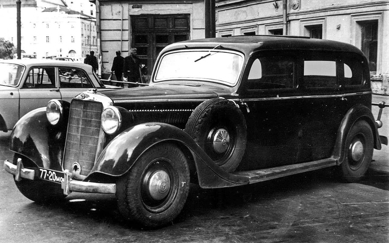 Очень редкий Мерседес W142— ретротест кабриолета-пенсионера— фото 950205