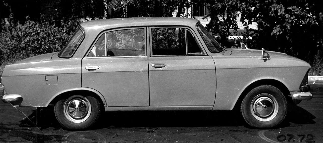 Уникальные версии Москвича-412: пикапы, спорткупе, хэтчбеки— фото 1053242