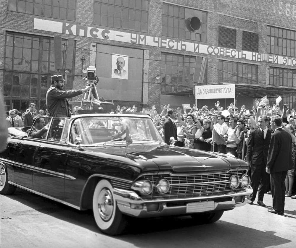 ВАЗ-2108и другие автомобили Фиделя Кастро— фото 670106