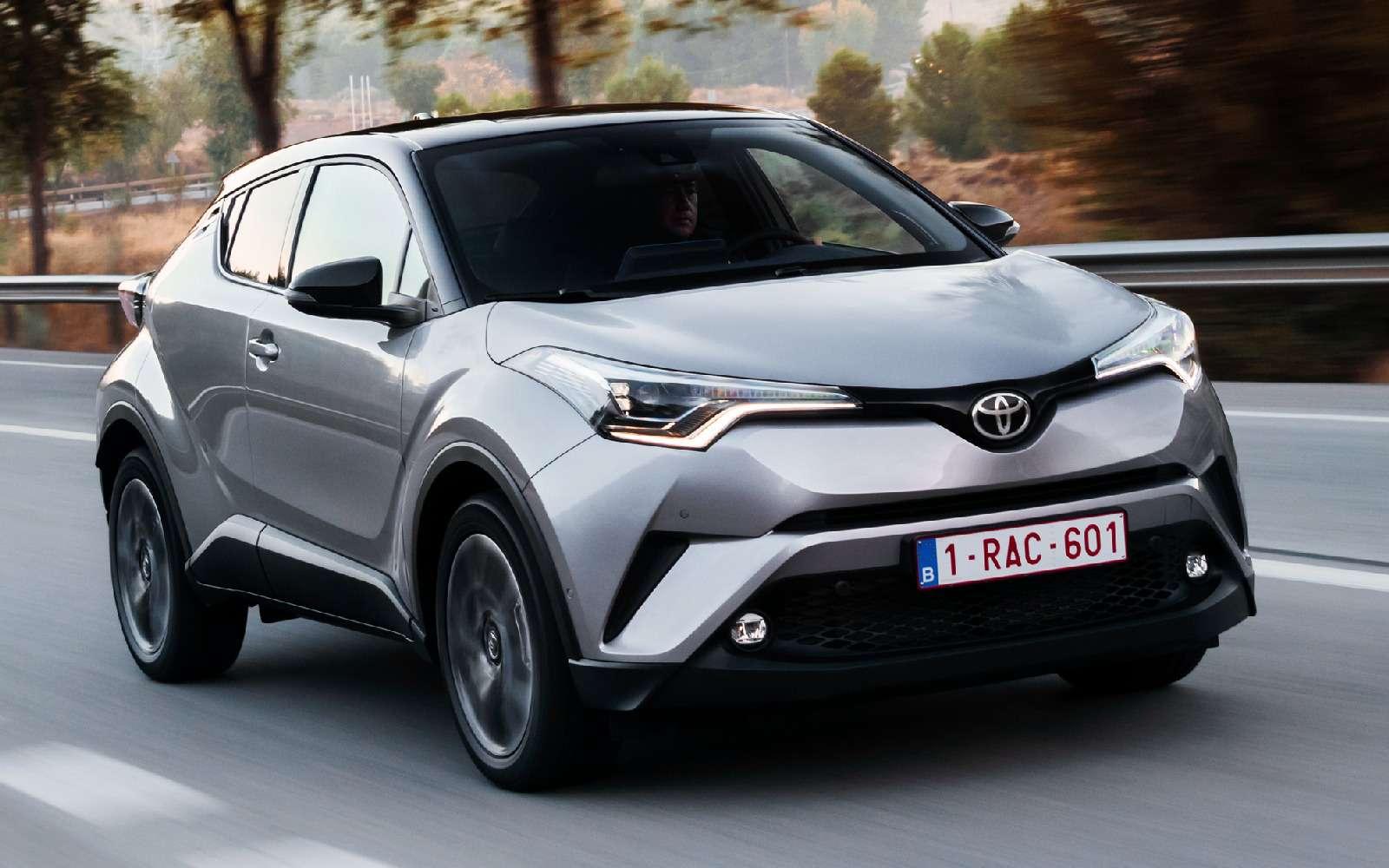 Toyota сертифицировала вРоссии кроссовер C-HR— фото 700287