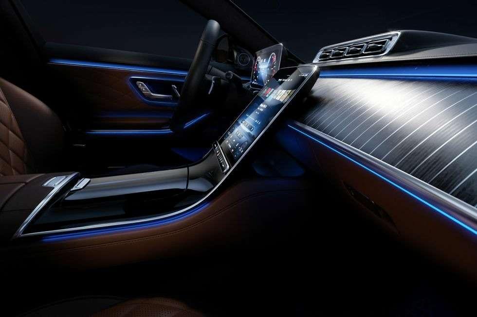 Новый Мерседес S-класса: фото роскошного интерьера— фото 1157986