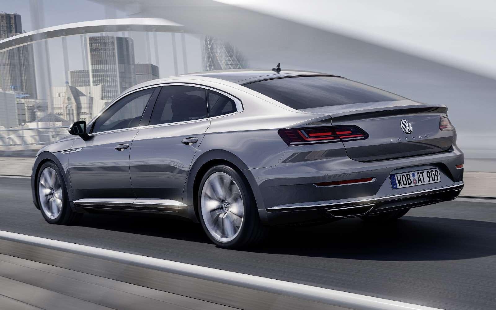 Volkswagen Arteon: это вам неЦе-Це!— фото 717153