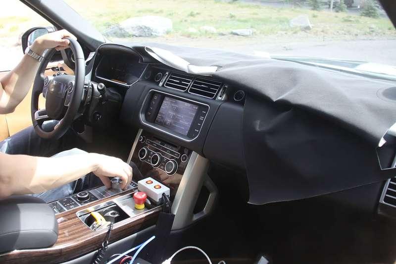 NewLand Rover Range Rover interior
