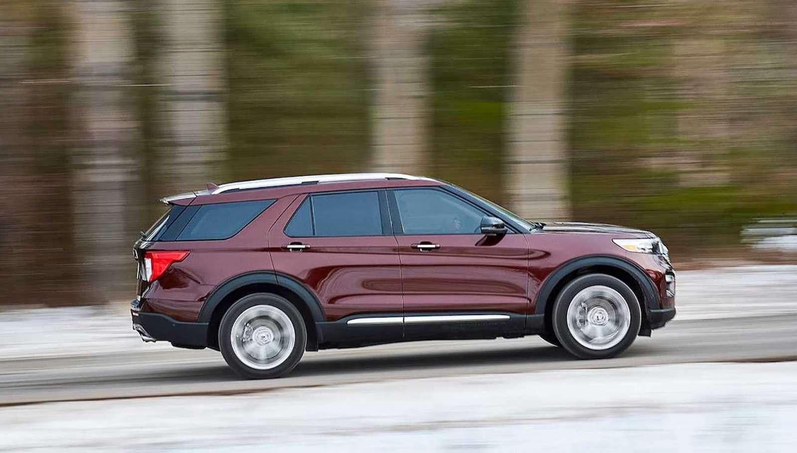 Новый Ford Explorer: разбираем его вдеталях— фото 939734