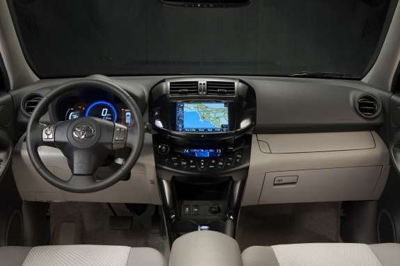 Toyota RAV4EV inside