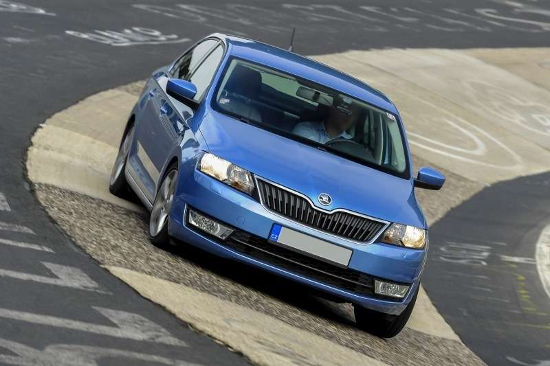 skoda rapid 12 tsi laps nurburgring in 917 video 69800 1 no copyright