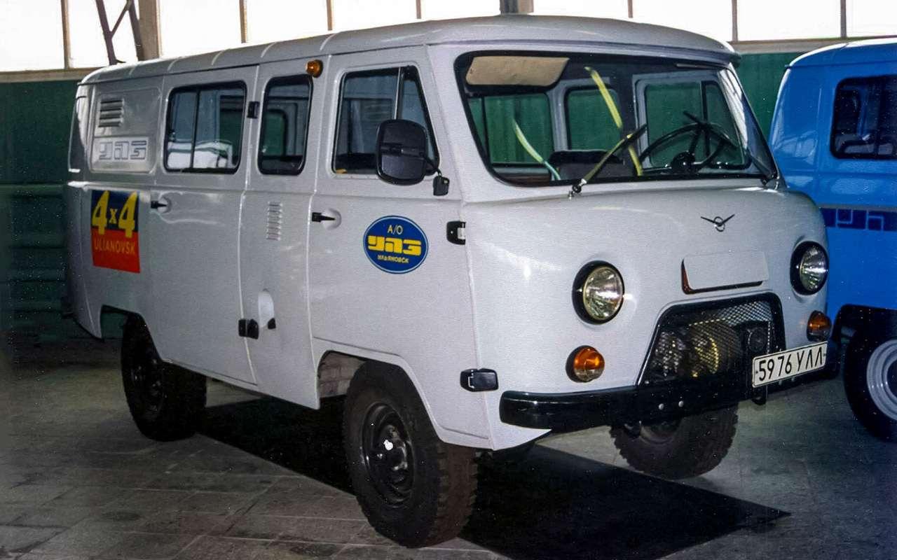 Вкус «буханки»: полная история УАЗ-450— фото 1269688